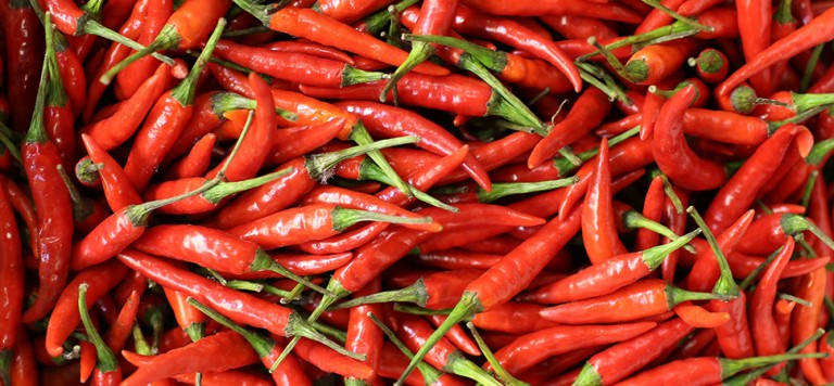Birds eye chillies
